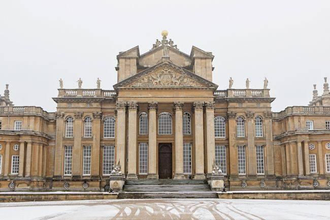 Majestic Splendour Photo Shoot At Blenheim Palace