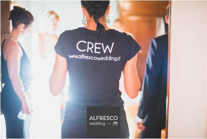 Al fresco Crew - Luxury Wedding Gallery