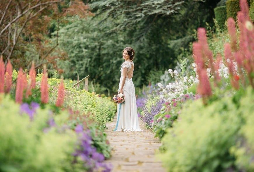 Bride-in-gardens