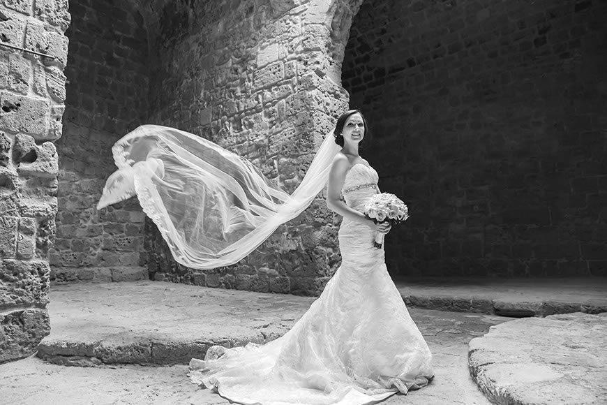 BrideInPaphosFort - Luxury Wedding Gallery
