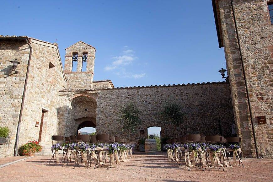 Castel Monastero wedding venues in italy6 - Luxury Wedding Gallery