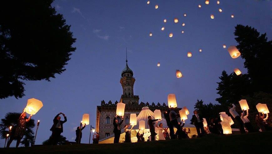 Chinese lanterns Visionnaire wedding planner - Luxury Wedding Gallery