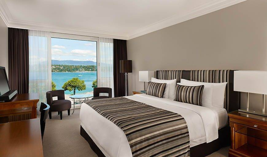 Deluxe Room Lake View Hotel President Wilson a Luxury Collection Hotel Geneva - Luxury Wedding Gallery