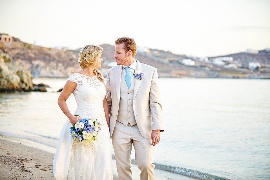 Dream Weddings Mykonos Beach wedding 2 - Luxury Wedding Gallery
