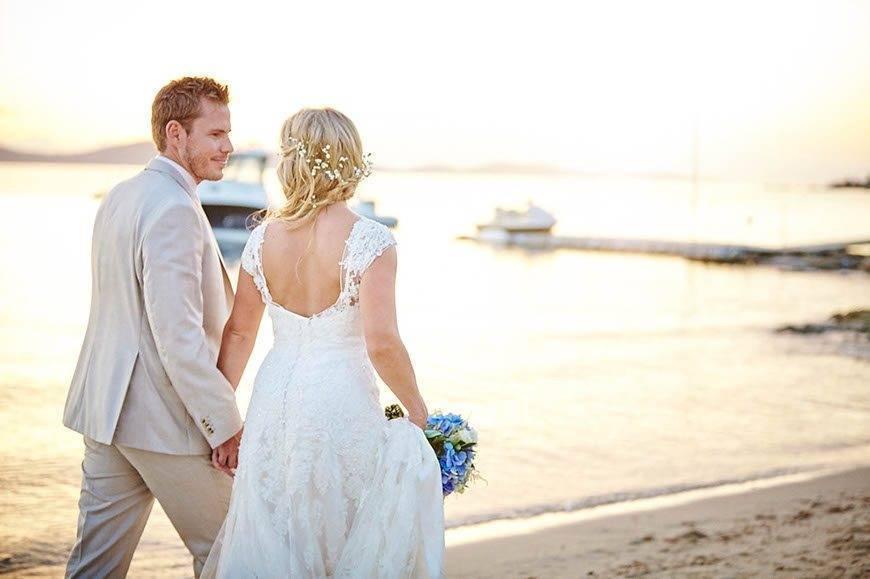 Dream Weddings Mykonos Beach wedding - Luxury Wedding Gallery