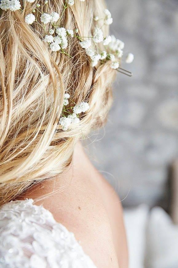 Dream Weddings Mykonos Bridal hair 1 - Luxury Wedding Gallery
