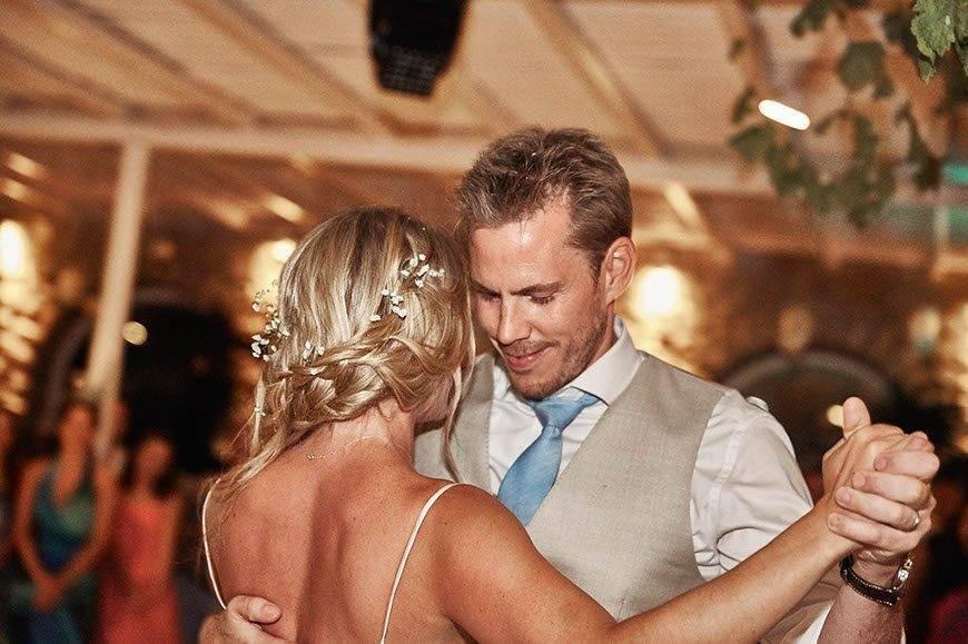 Dream Weddings Mykonos First dance - Luxury Wedding Gallery