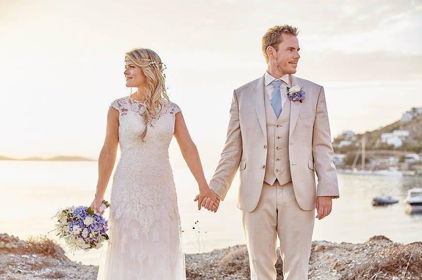 Dream Weddings Mykonos beach wedding 3 - Luxury Wedding Gallery