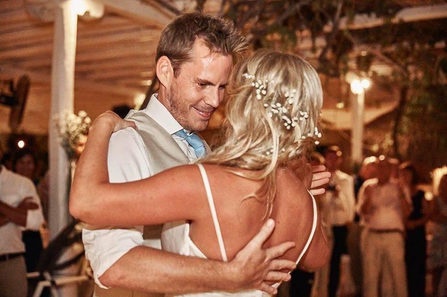 Dream Weddings Mykonos firsts dance 2 - Luxury Wedding Gallery