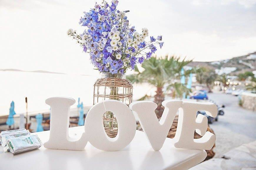 Dream Weddings Mykonos love - Luxury Wedding Gallery