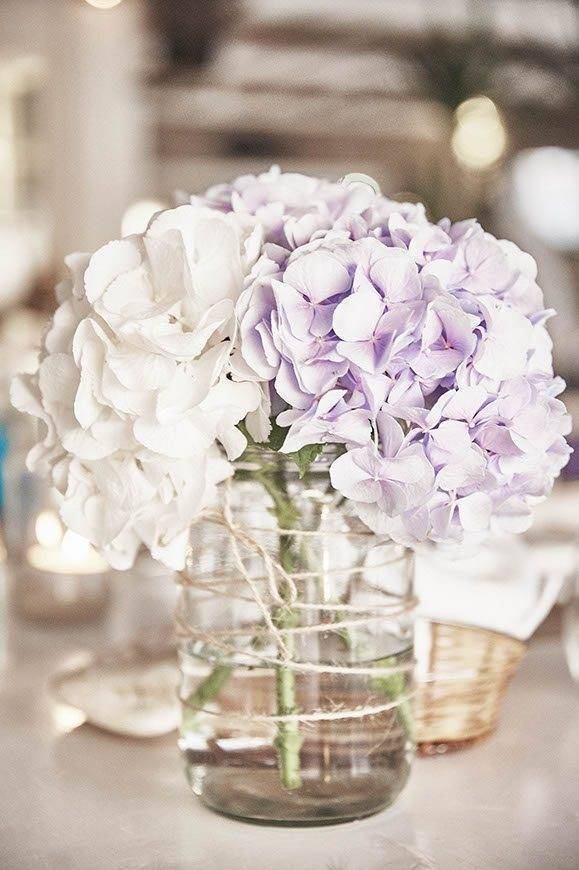 Dream Weddings Mykonos table centerpiece - Luxury Wedding Gallery