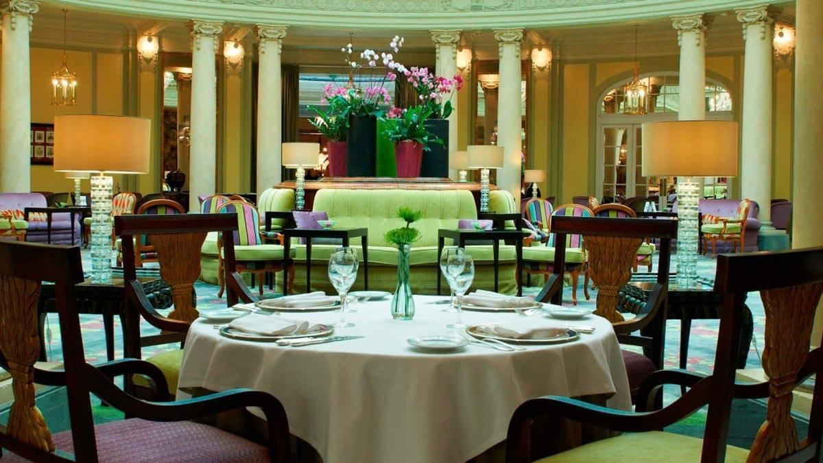 HDGalleryMesarestauranteLaRotondaTheWestinPalaceMadrid