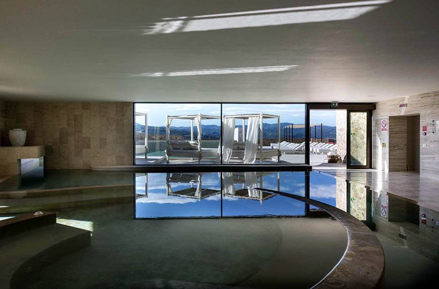 Indoor Pool View - Luxury Wedding Gallery