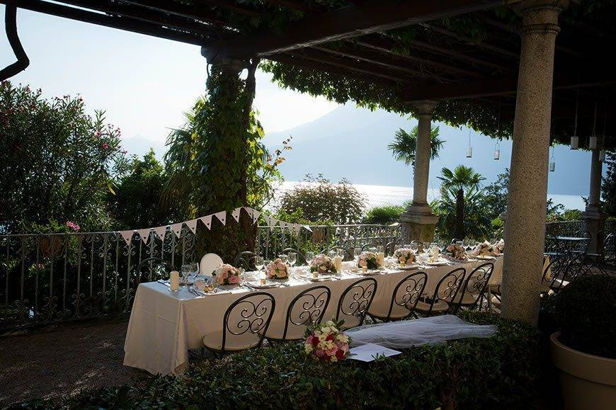 Lake Como Hotel Wedding - Luxury Wedding Gallery