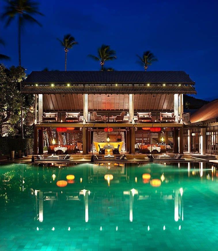 Le Me%CC%81ridien Koh Samui Resort Spa Latest Recipe Restaurant - Luxury Wedding Gallery