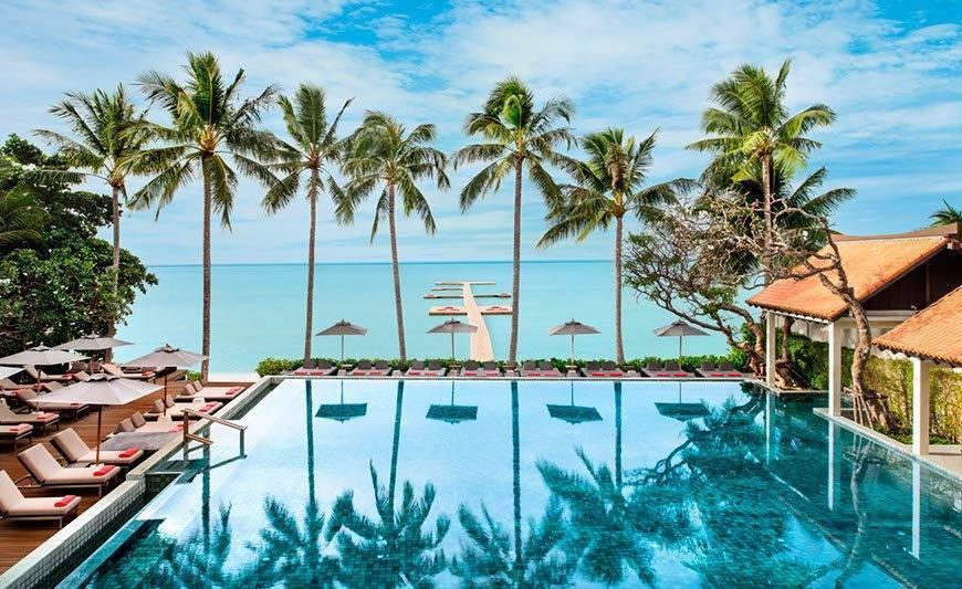 Le Me%CC%81ridien Koh Samui Resort Spa Swimming Pool - Luxury Wedding Gallery