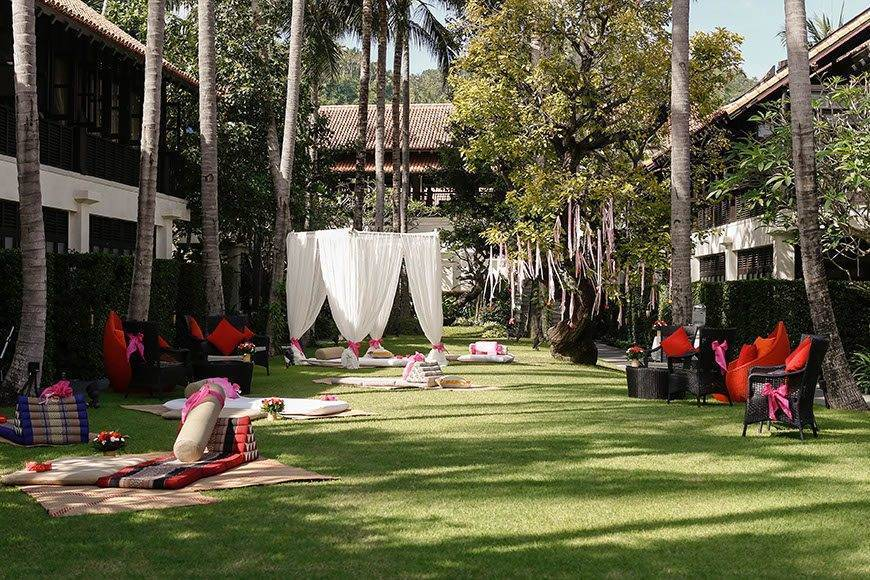 Le Me%CC%81ridien Koh Samui Resort Spa The Lawn - Luxury Wedding Gallery