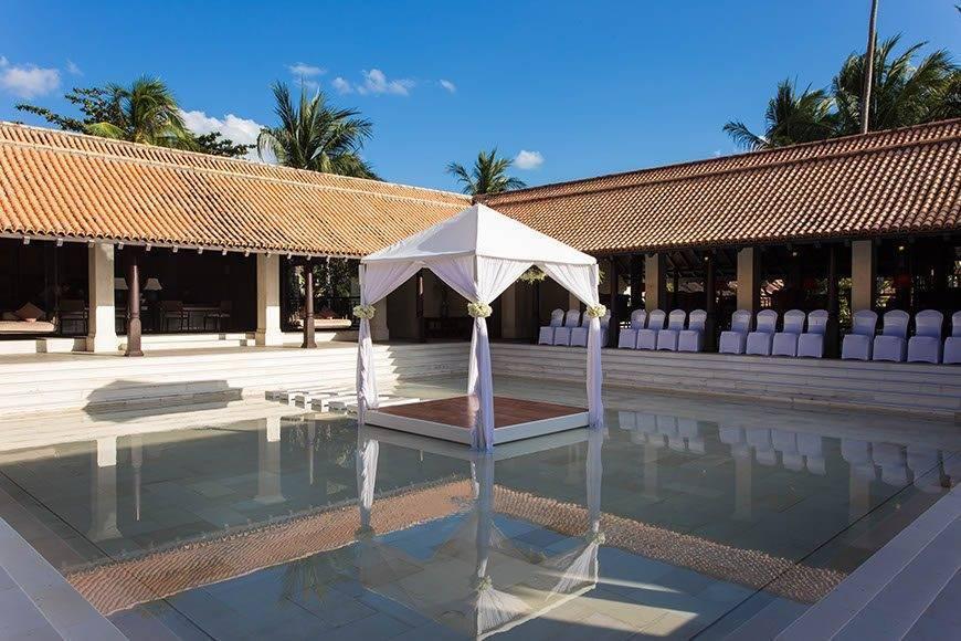 Le Me%CC%81ridien Koh Samui Resort Spa Wedding Setting at Lobby - Luxury Wedding Gallery