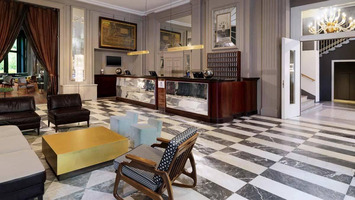 Lobby in Baxter style Sheraton Diana Majestic - Luxury Wedding Gallery