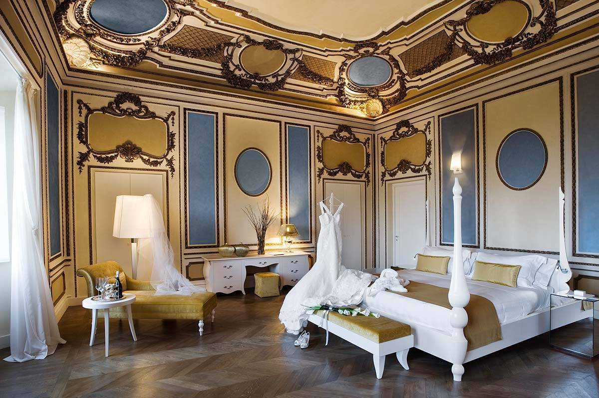 Luxurious suite for Wedding couples - Luxury Wedding Gallery