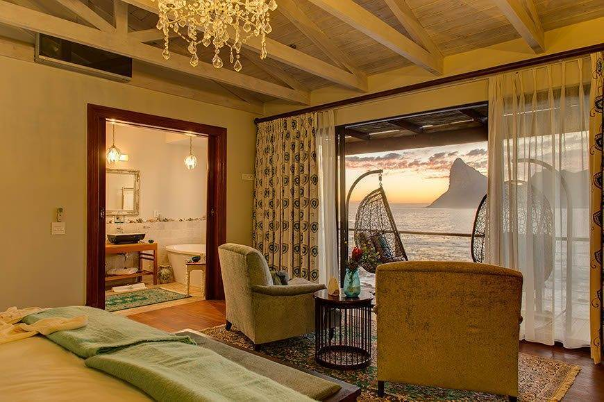 Ocean views from private decks - Luxury Wedding Gallery