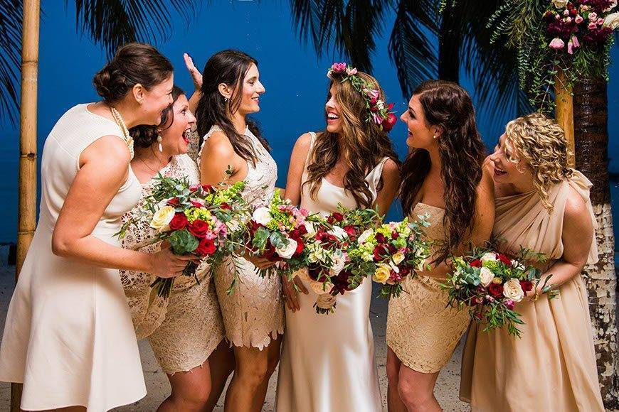 Papillon Weddings Events Bridal Party Mexico - Papillon Weddings & Events – Portfolio