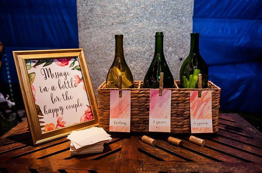 Papillon Weddings Events Message in the Bottle Mexico - Papillon Weddings & Events – Portfolio