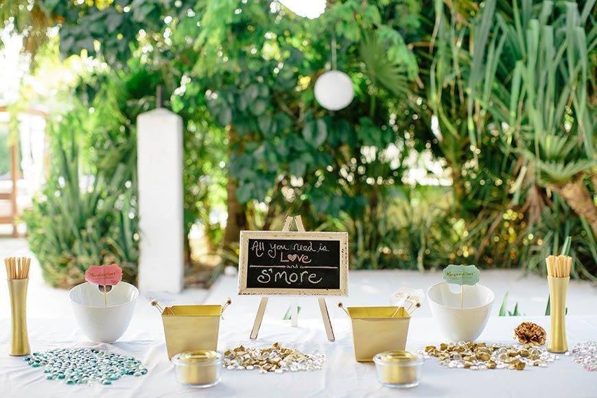 Papillon Weddings Events Smore Bar Mexico 3 - Papillon Weddings & Events – Portfolio