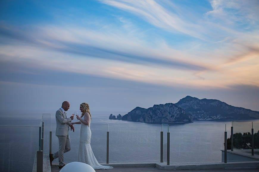 Romantic Couple Sorrento - Luxury Wedding Gallery