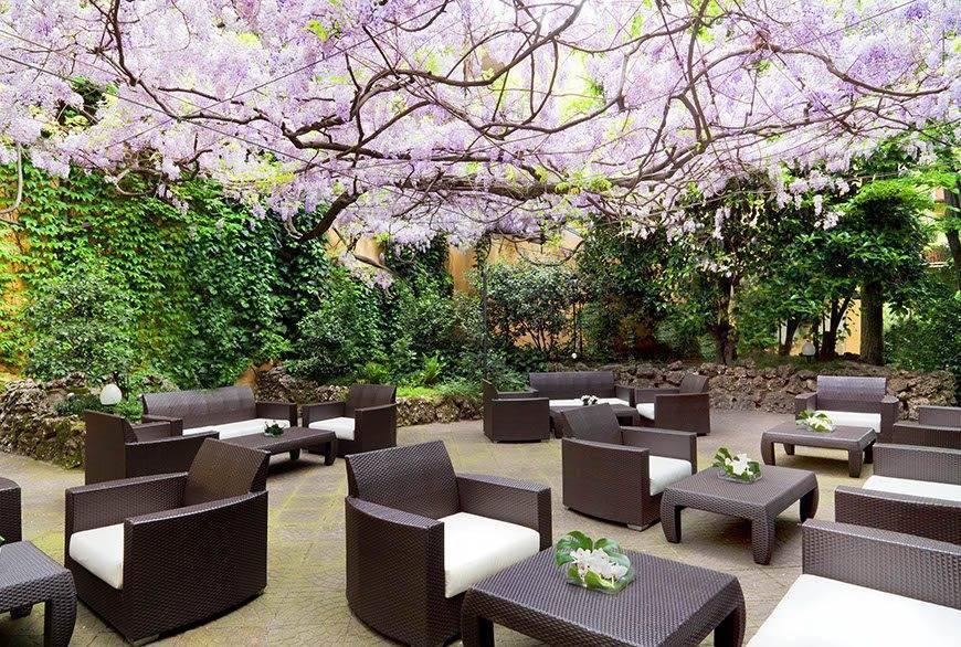 Sheraton-milan-Itallian-wedding-venues-Diana-garden-lounge-glicine