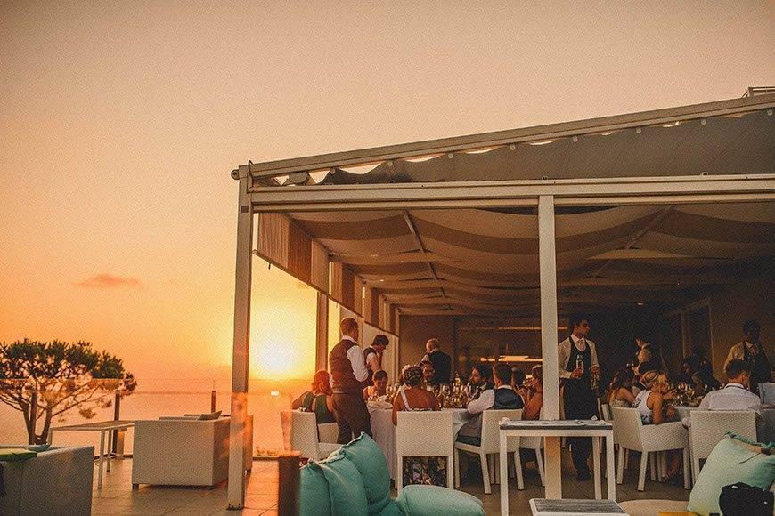 Sorrento Sunset - Luxury Wedding Gallery