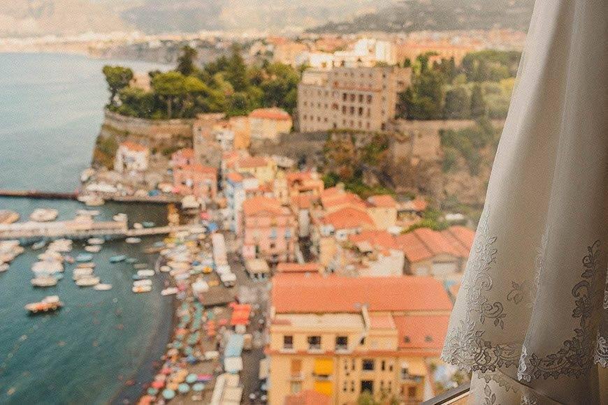 Sorrento Wedding View - Luxury Wedding Gallery