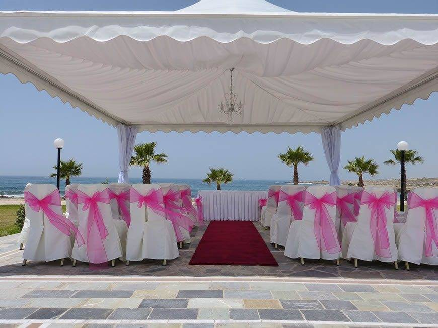 Stunning Marquee with paphos Weddings made easy - Luxury Wedding Gallery
