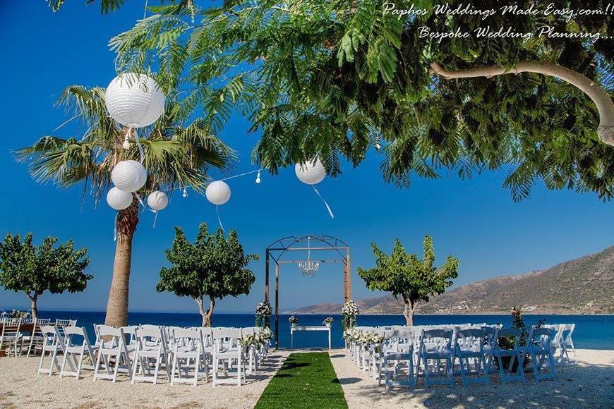 Sunning Villa weddings by Paphos Weddings Made Easy - Luxury Wedding Gallery