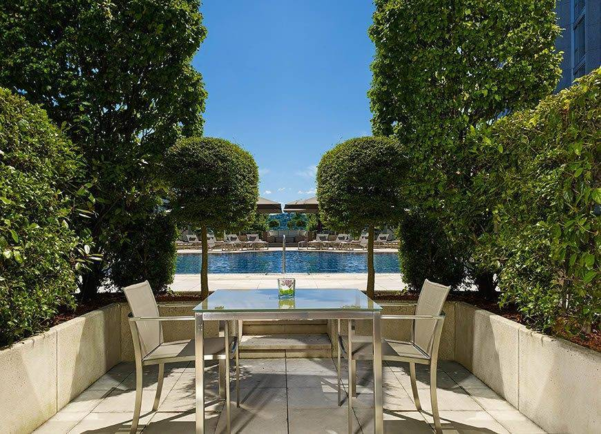Superior Room Pool View with terrace Hotel President Wilson a Luxury Collection Hotel Genevalow - Luxury Wedding Gallery