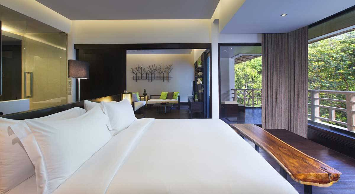 The-Andaman-Resort-Executive-Suite-Bedroom-with-Rainforest-View