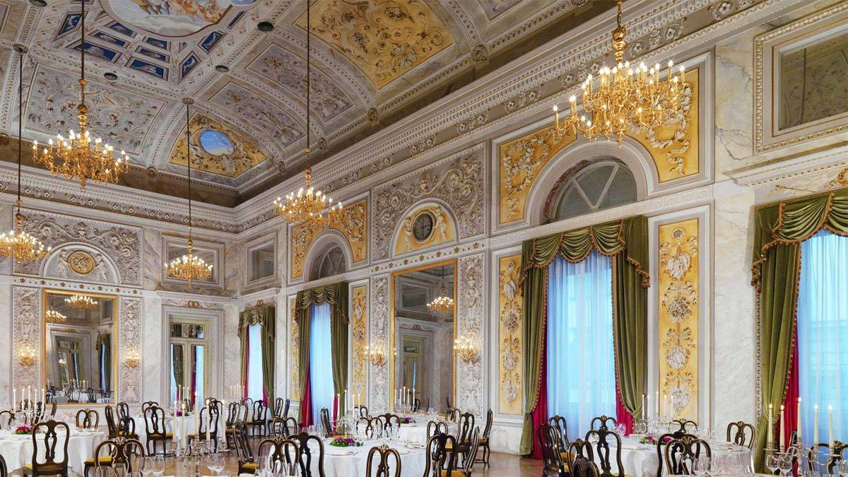 The St Regis Florence Special Events - Luxury Wedding Gallery