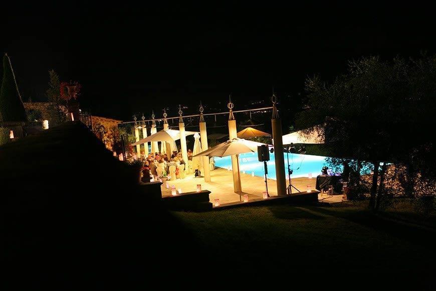 Tuscany Evening Reception - Luxury Wedding Gallery