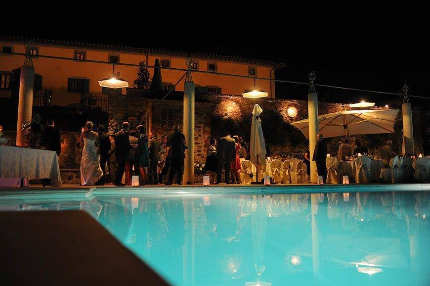 Tuscany Poolside Party - Luxury Wedding Gallery