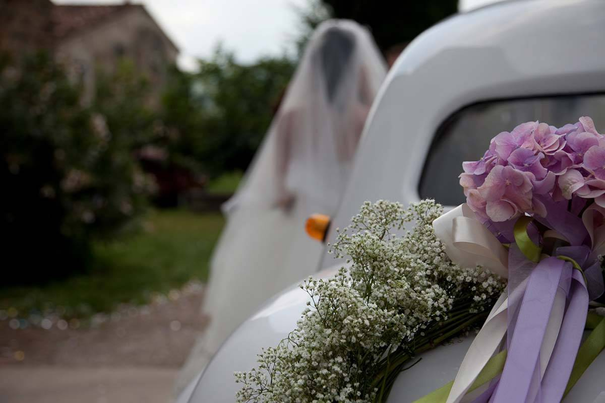 Vintage Car decoration - Luxury Wedding Gallery