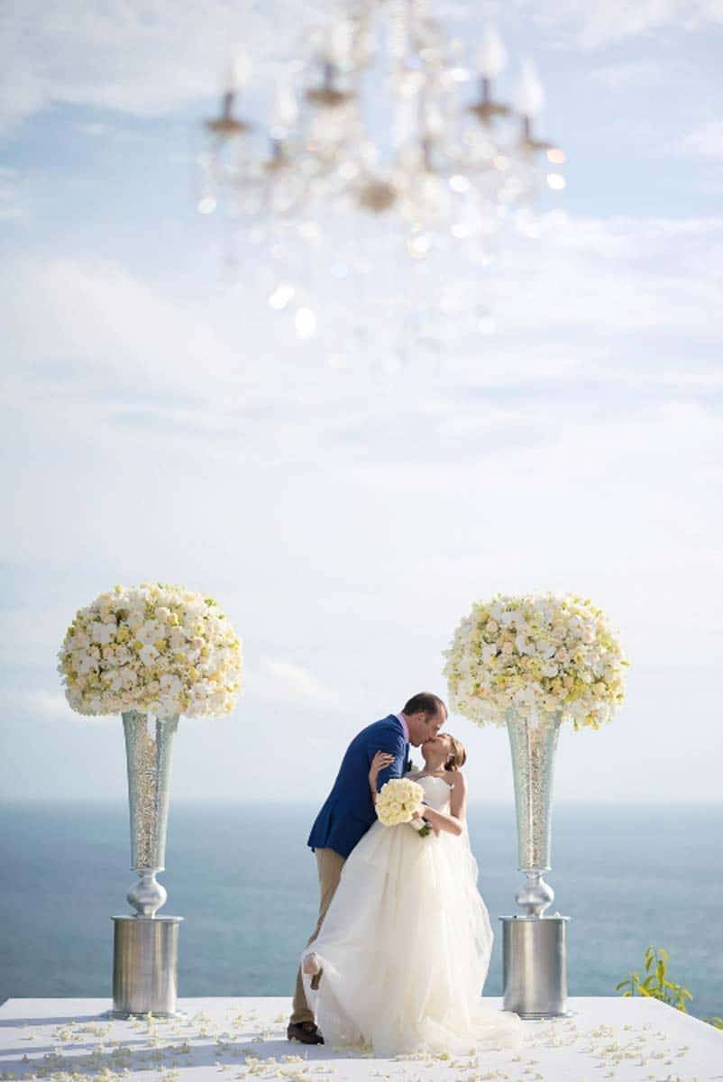 WB Thailand ceremony with ocean backdrop 1 - Luxury Wedding Gallery