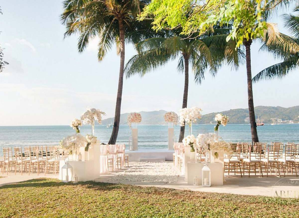 WB Thailand romantic ceremony with bay view 1 - Luxury Wedding Gallery