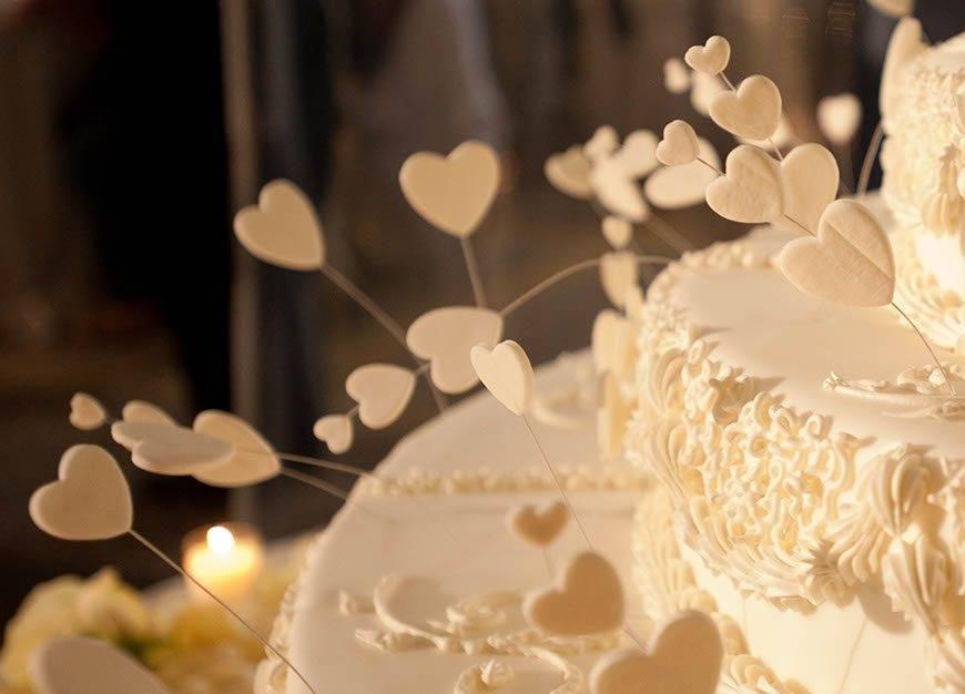 Wedding cake detail Visionnaire Wedding planner - Luxury Wedding Gallery