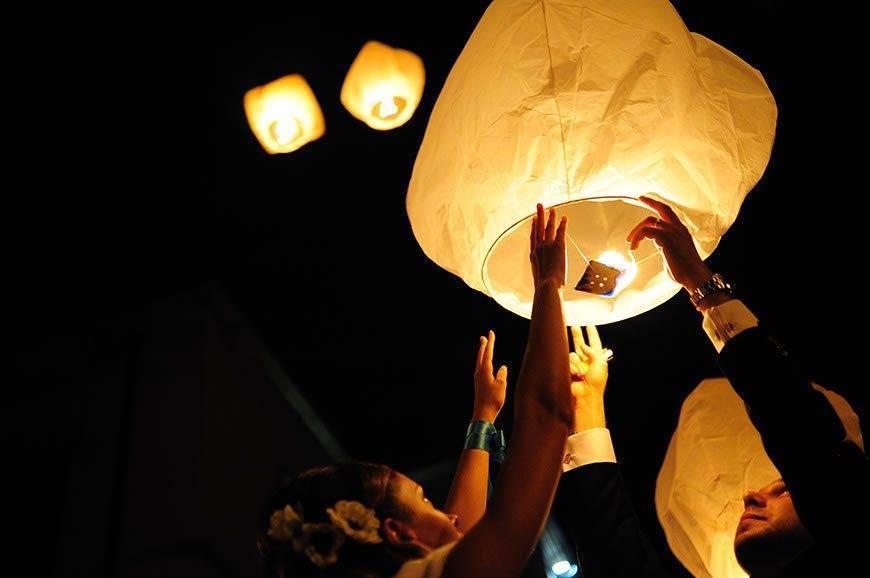 Wedding chinese lantern Visionnaire Wedding planner - Luxury Wedding Gallery