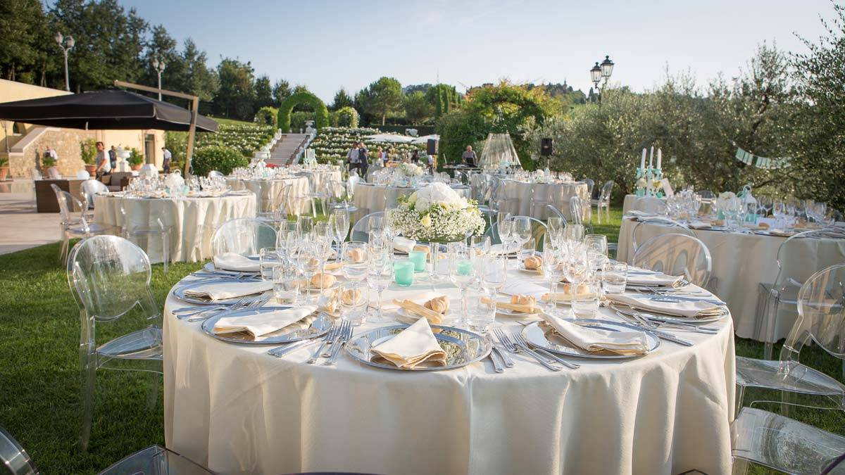 Wedding reception in one of the most exclusive Italian venues - Luxury Wedding Gallery