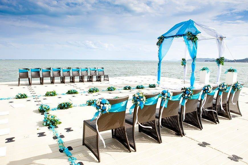 Western Wedding at Ocean Pier 02 - Luxury Wedding Gallery