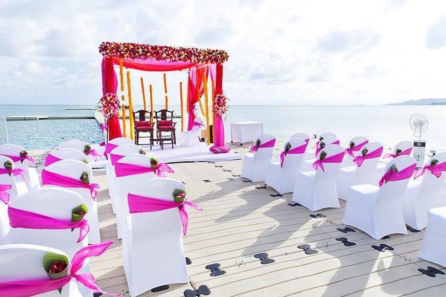 Western Wedding at Ocean Pier 03 - Luxury Wedding Gallery