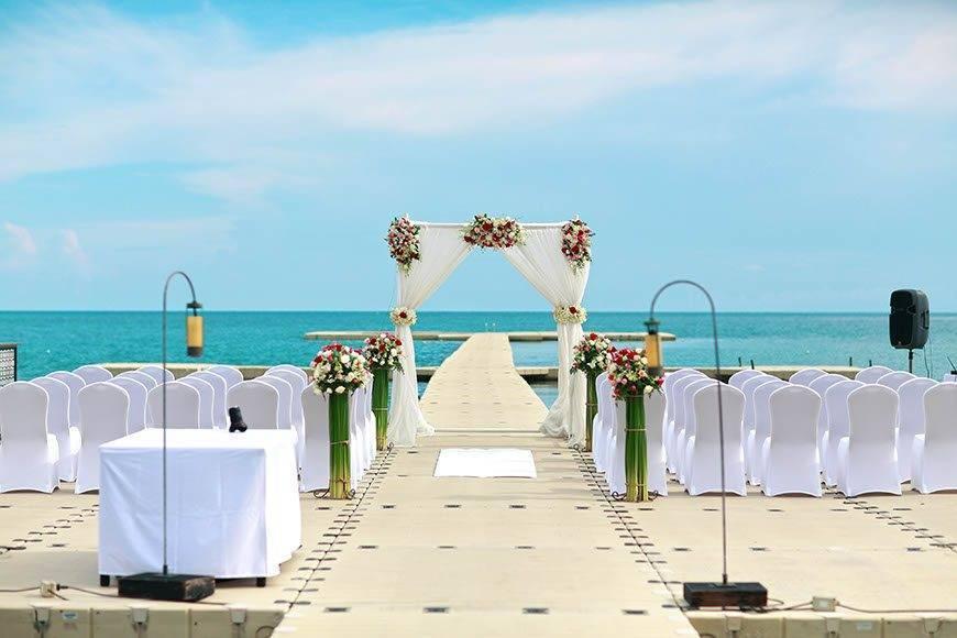 Western Wedding at Ocean Pier 05 - Luxury Wedding Gallery
