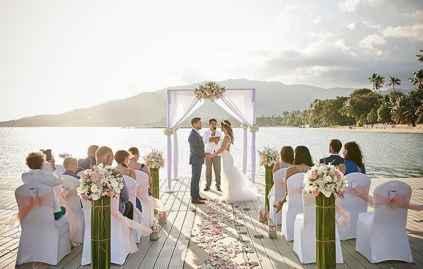 Western Wedding at Ocean Pier 07 - Luxury Wedding Gallery