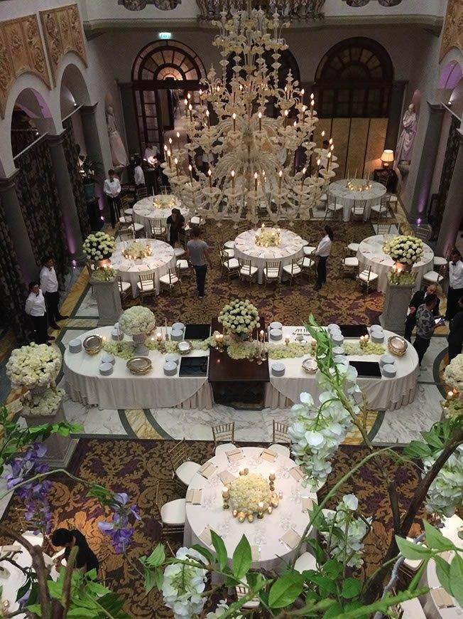 Winter garden setting up time - Luxury Wedding Gallery